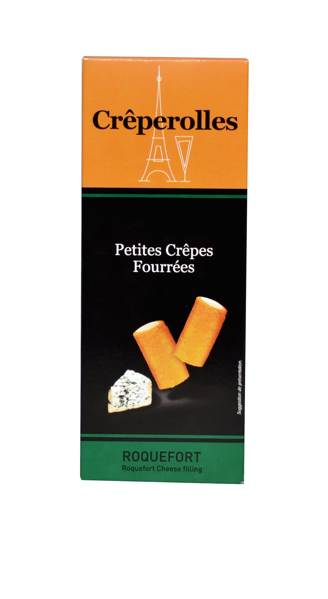 Mini Crêperolles Roquefort 100g