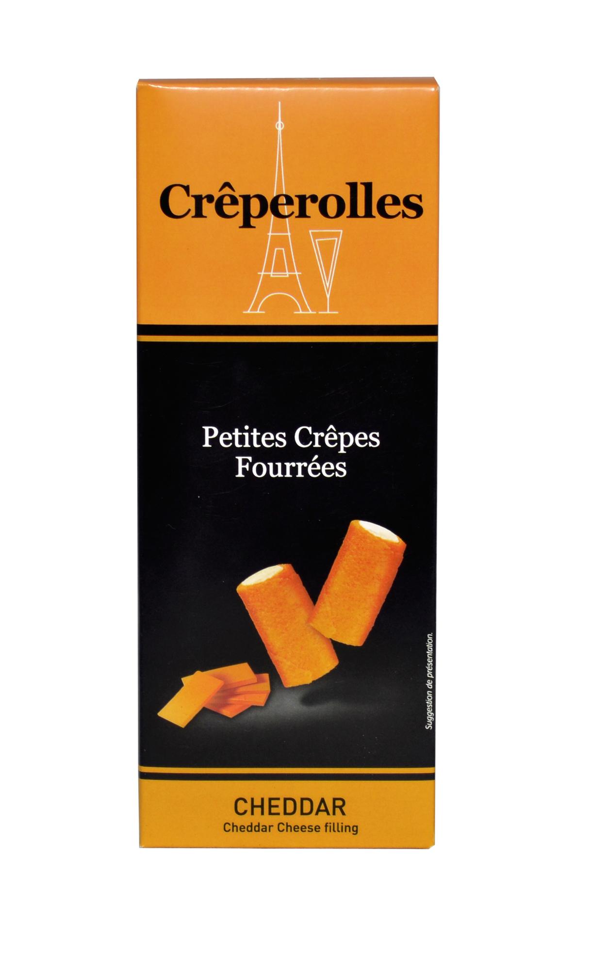 Mini Crêperolles Cheddar 100g